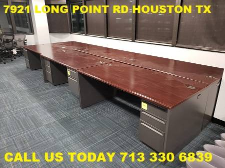 Photo James Office Furniture Used Office Desks (7921 Long Point Rd Houston TX 77055)