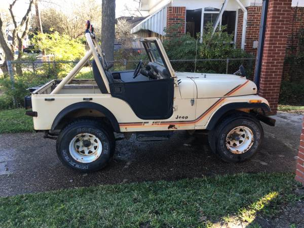 Photo Jeep CJ5 - Ranch-ready or restoration - $3500 (The Heights)