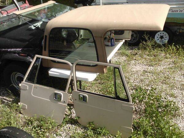 Photo Jeep tops  doors wanted, get fast $$$ (Houston TX)