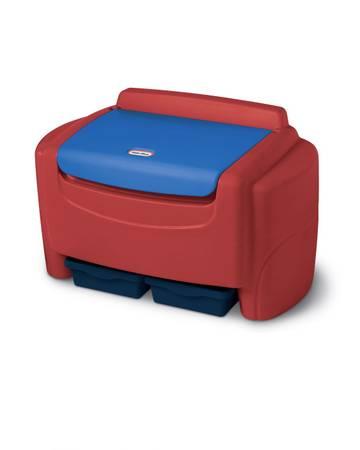 Photo Little tikes sort n store kids kid toy storage chest 3003 - $65 (Houston)