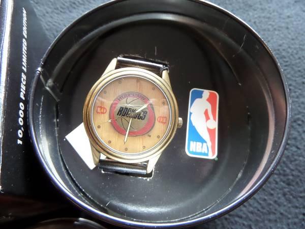 Photo NEW 1994 Lt Ed. Houston Rockets Fossil Watch - $125 (HumbleKingwood)