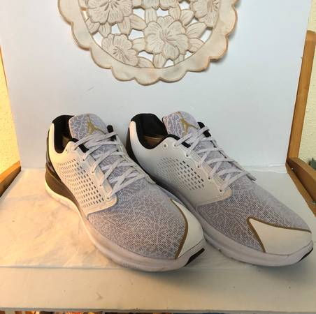 Photo Nike Jordan Trainer ST Premium White Gold Size 14 - $75 (West University)