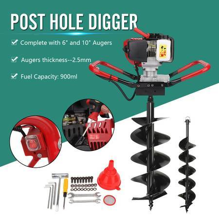 Photo One Man Post Hole Digger - $50