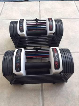 Photo Powerblock dumbbells - $450 (Richmond)
