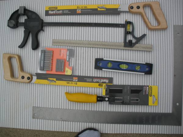 Photo Saws, and Woodworking Tools, 8 in All -- for Sale - $75 (CypressNear 290)