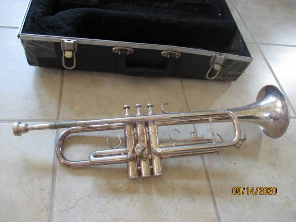 Photo Silver Trumpet, Amati brand, Made in Czech. - $165 (NW Houston)