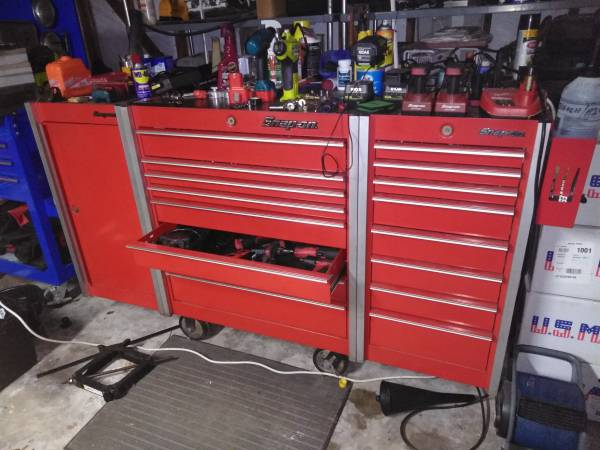 Photo Snap On Tools 40 years worth for sale - $25,000 (Katy area)