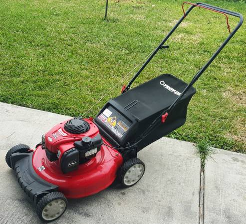 Troy Bilt Walk Behind Push Lawn Mower 21 Quot Cutting Deck