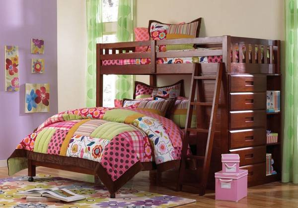 Photo Twin Over Full Loft Bed - $699 (Tomball)