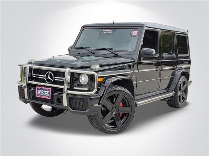 Photo Used 2015 Mercedes-Benz G 63 AMG 4MATIC for sale
