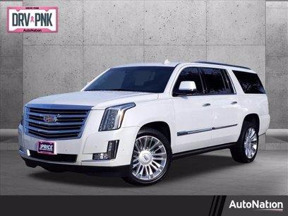 Photo Used 2017 Cadillac Escalade ESV Platinum for sale