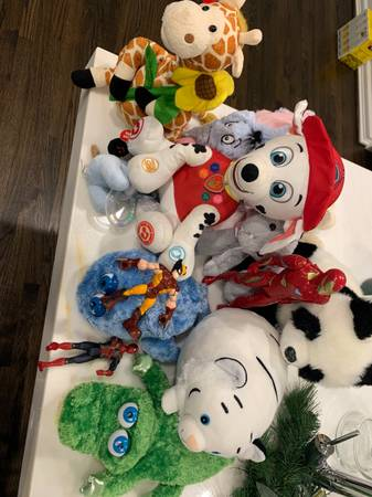 Photo Used kids toys, stuffed animals and mens shoes size 11 (FountainviewWestheimer)