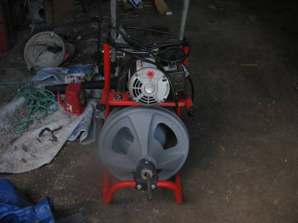 Photo ridgid sewer machine - $450 (Pasadena)