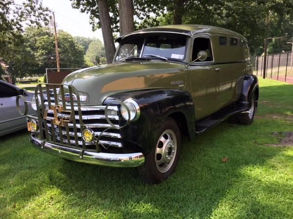 Photo 1949 Chevy 3800 Panel truck - $29000 (Buchanan, NY)