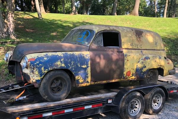 Photo 1951 Chevy Sedan Delivery - $4,000 (Hyde Park)