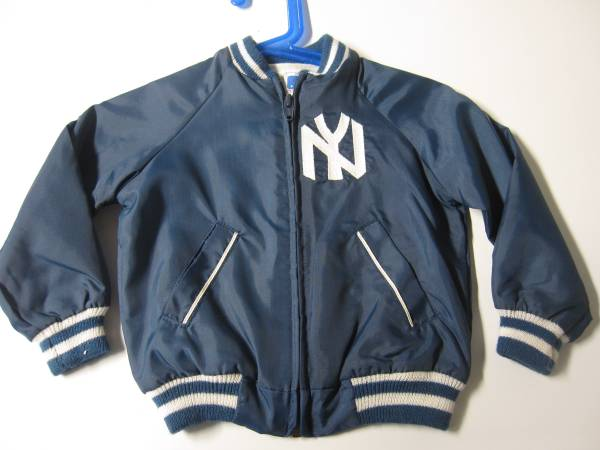Photo 1980s NY Yankees 18 month Satin quotBomberquot Jacket. Like New. - $10 (CarmelMahopac)