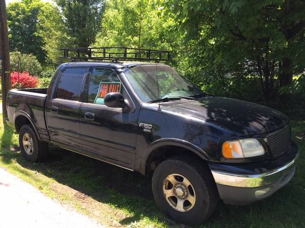 Photo 2003 Ford F150 Supercrew for parts or repair - $900 (Milford, PA)
