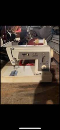 Photo 2 singer sewing machines - $250 (Middletown town ny)