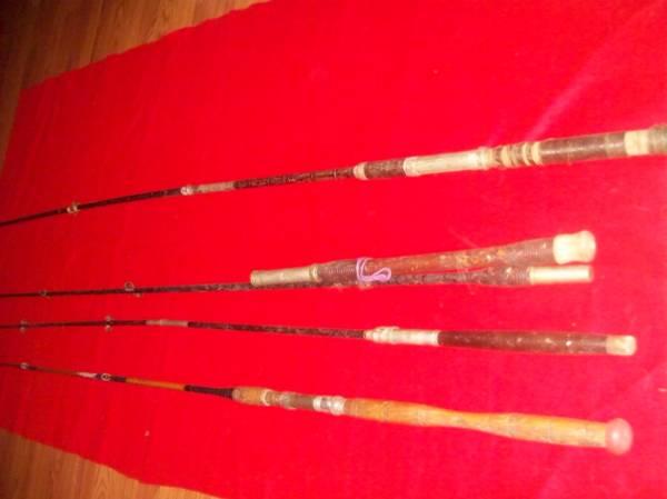 Photo 4 antique bambo fishing dep sea poles - $60 (RHINEBECK)