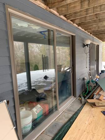 Photo Andersen Sliding Glass Doors - $650 (Woodstock)