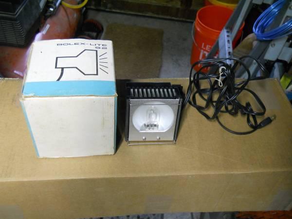 Photo Bolex Lite S2 Super 8 650 Watt - $15 (northern Dutchess County)