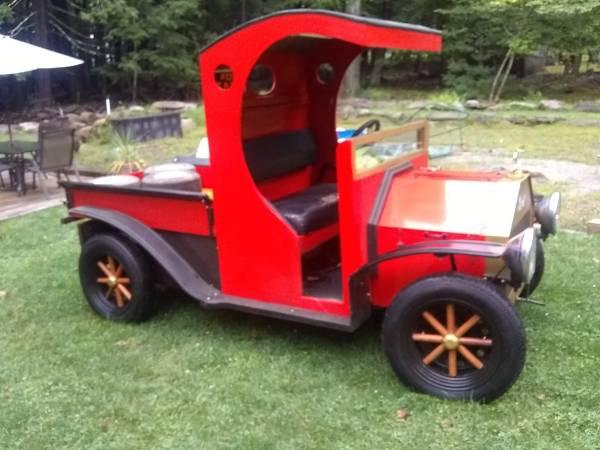 Photo C cab pickup custom built in club car frame new batteries runs great o - $2,700 (Wurtsboro)