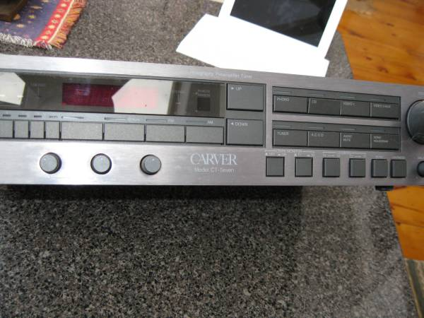 Photo Carver CT-Seven Sonic Holography Pre-Amp Tuner - $300 (Olivebridge)