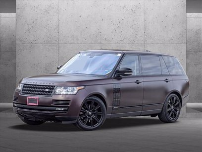 Photo Certified 2017 Land Rover Range Rover Long Wheelbase Supercharged for sale