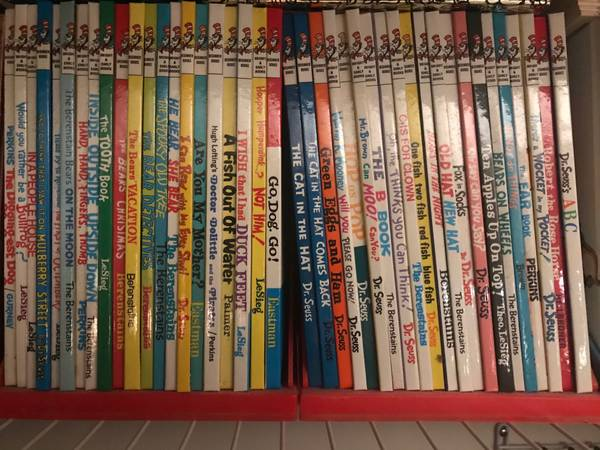 Photo Children39s books storybook lot disney dr. seuss - $140 (Chester)