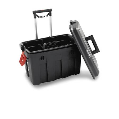 Photo Craftsman Sit Stand Tote Truck Tool Box Rolling Portable Wheeled Box - $45 (Haverstraw, NY)