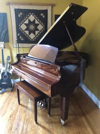 Photo George Steck 639 Grand Piano - $6,000 (Brewster)