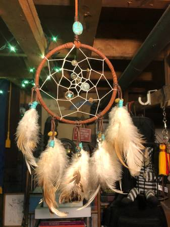 Photo Hand Made Dream Catcher Native American Style  Spider  Energized Gem - $25 (Rockland County)