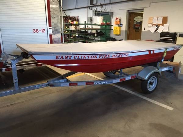Photo Jon Boat with Trailer - $1,500 (Clinton Corners)