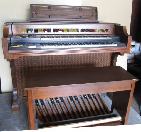 Photo LOWREY HOLIDAY CONSOLE GENIE ORGAN wBENCH - $300 (Saugerties)