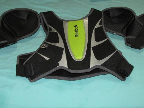 Photo Lacross Chest Protector by Reebok with Shoulder Pads, Never Used - $20 (Orange County)