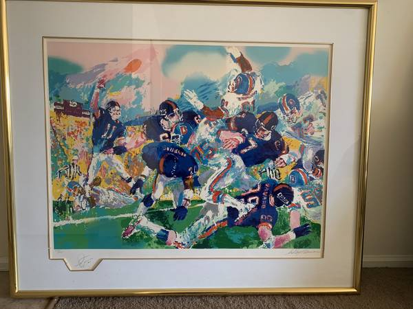 Photo LeRoy Neiman NY Giants - $1195 (Goshen)