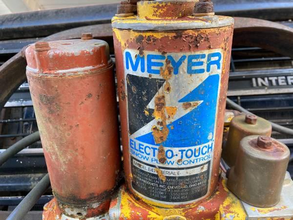 Photo Meyer Snow Plow - $370 (Wassaic)