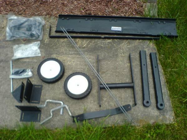 Photo New Simplicity front mount dethatcher. 1690819 - $250 (Port Jervis area)