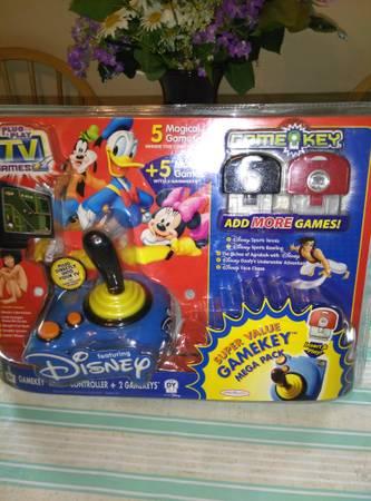 Photo Plug  play TV games- Disney - $35 (Town of Newburgh)