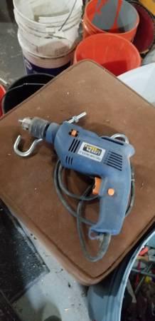 Photo Power craft 12 inch impact drill - $10 (Montgomery New York)
