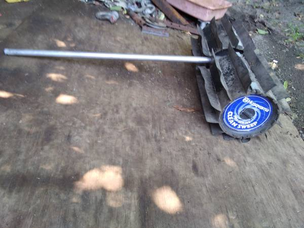 Photo Power sweeper attachment - $180 (Highland,ny)