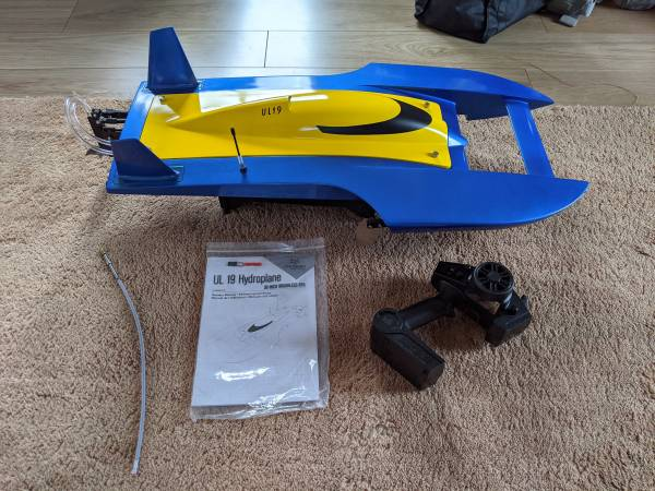 Photo RC BOAT PROBOAT UL19 RC HYDROPLANE - $375 (New Paltz, NY)