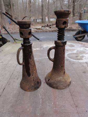 Photo Railroad jack house jack simplex screw jack - $80 (Howells NY)