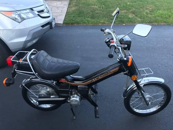 Photo Rare honda NU50 urban express scooter all MINT Runs Great 1983 - $1499 (Middletown)
