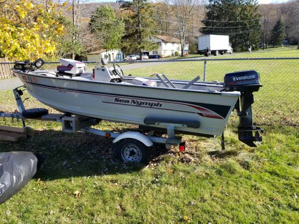Photo SOLD SOLD 14 foot Sea Nymph BOAT 1996 for sale REVISED - $3,000 (Cornwall)