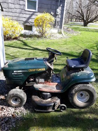 Photo Sears Lawn tractor - $50 (Cbell Hall)