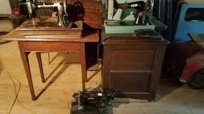 Photo Sewing machines (Hurley)