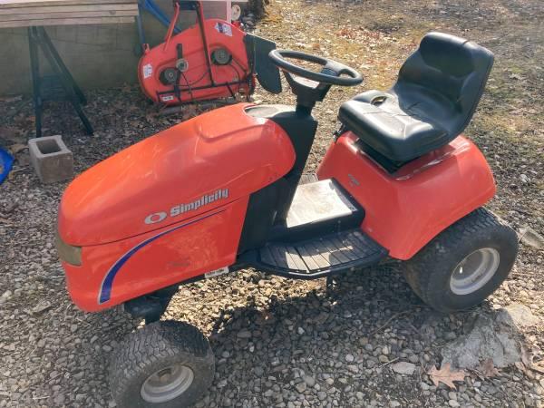 Simplicity lawn tractor - $190