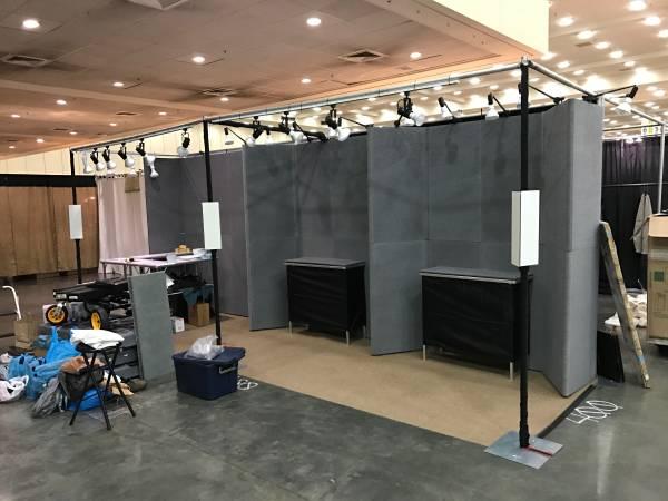 Photo Skyline Adjustable Trade Show Booth Display - $400 (Rifton)