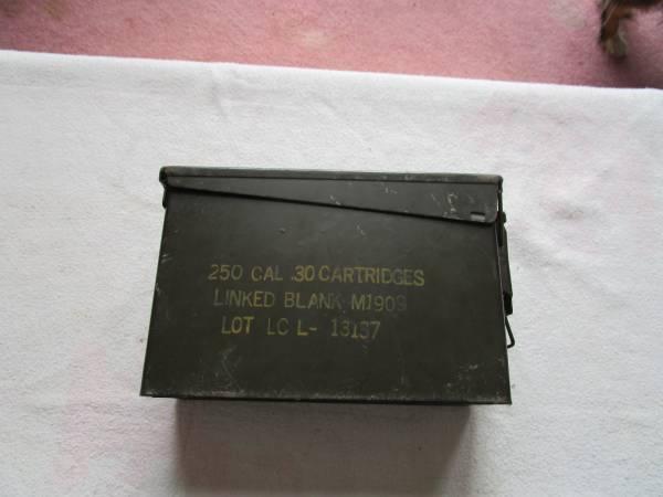 Photo Small Ammo Box - $10 (Warwick, N.Y.)